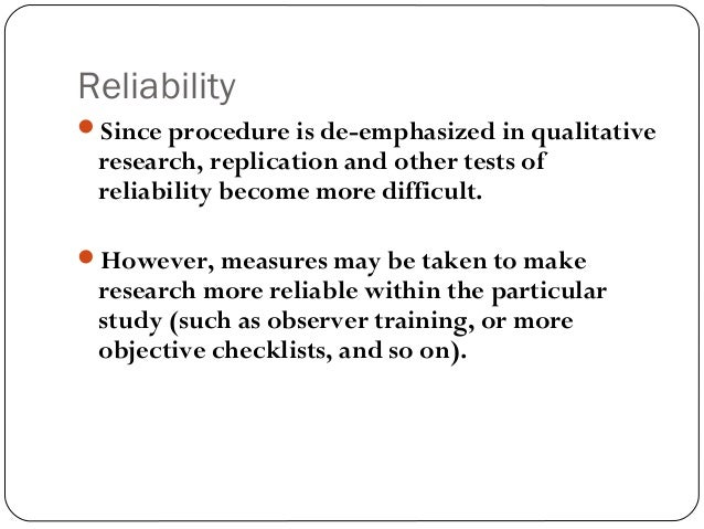 dependability in qualitative research pdf