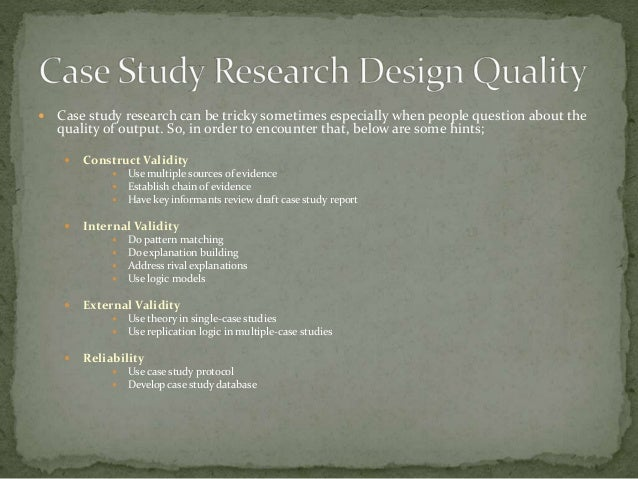why do researchers use case study method