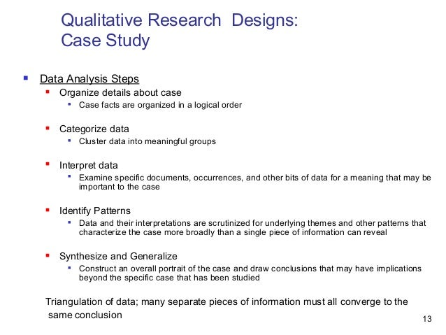 Document analysis in qualitative research