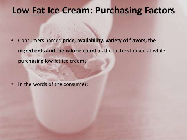 how to make low fat ice cream