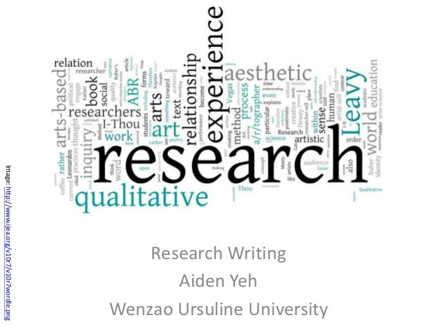 Image: http://www.ijea.org/v10r7/v10r7wordle.png  Research Writing Aiden Yeh Wenzao Ursuline University