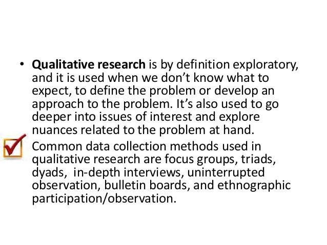Qualitative research lecture-shortened Qualitative Data Definition