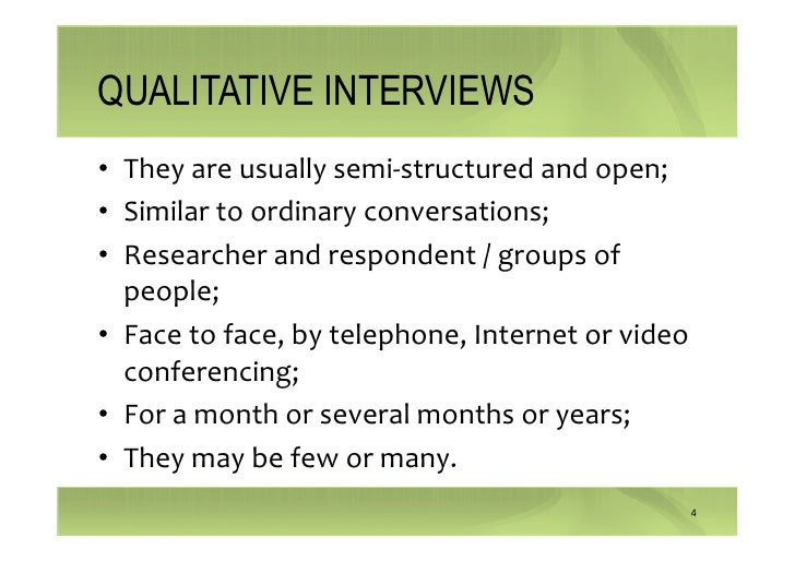 "semi structured interviews in qualitative research ""only your blood can tell the story"" – a qualitative research study using semi- structured interviews to explore the hepatitis b related knowledge, perceptions and experiences of remote dwelling indigenous australians and their health care providers in northern australia."