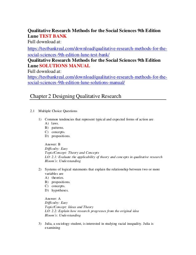 what is most common research method in social scinece research