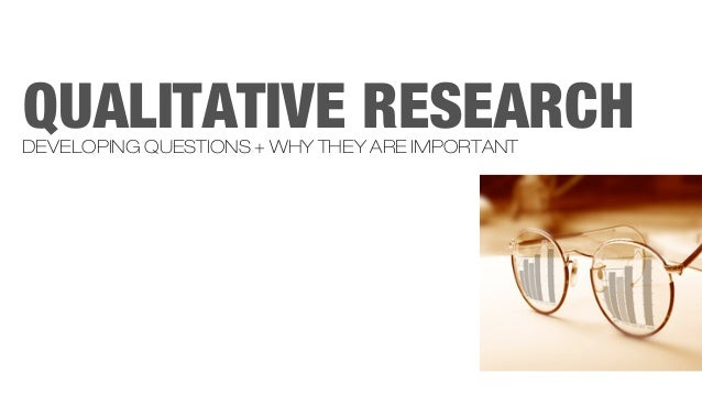 Qualitative research methods exam questions