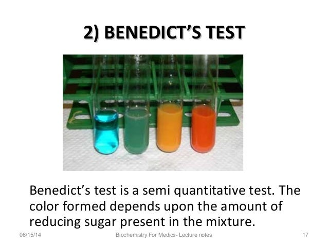 African Health OER Network: Barfoed's Test - Qualitative Tests in Carbohydrates