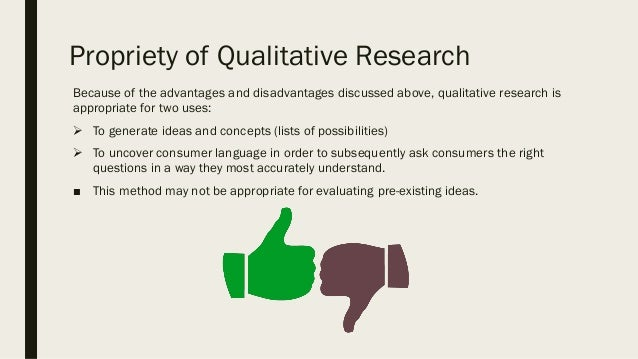 Qualitative Tools In Market Research