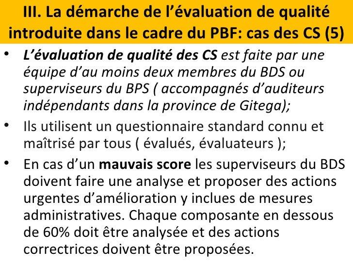 Evaluation de la qualite des services des centres de sante for Chambre 13 dans les hopitaux