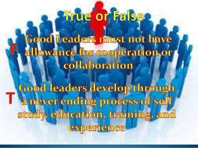 adjectives that describe a leader