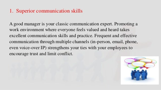 6 Essential Skills for Managers