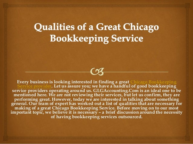 Every business is looking interested in finding a great Chicago Bookkeeping Service provider. Let us assure you; we have a...