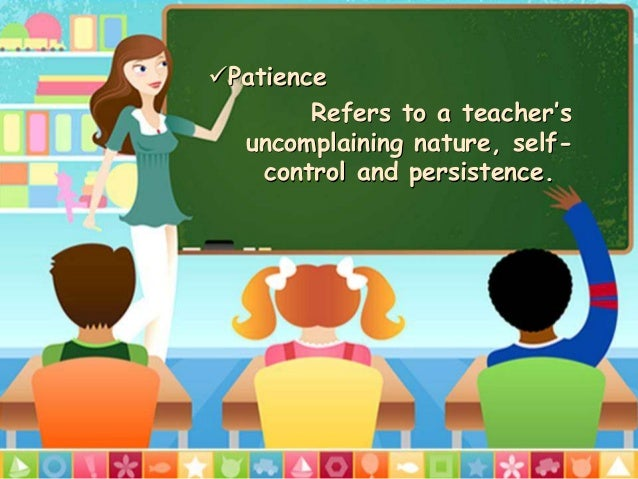 teaching patience to preschoolers qualities of a 941