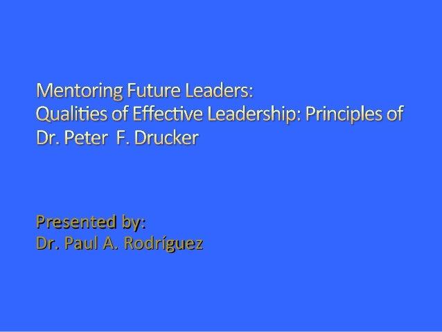 Presented by:Presented by: Dr. Paul A. RodríguezDr. Paul A. Rodríguez