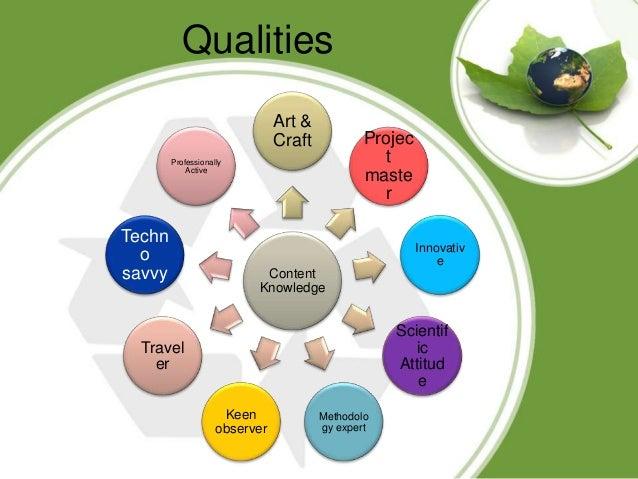 Qualities of geography teacher Slide 3