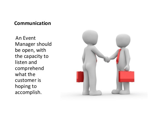 how to become a successful event manager