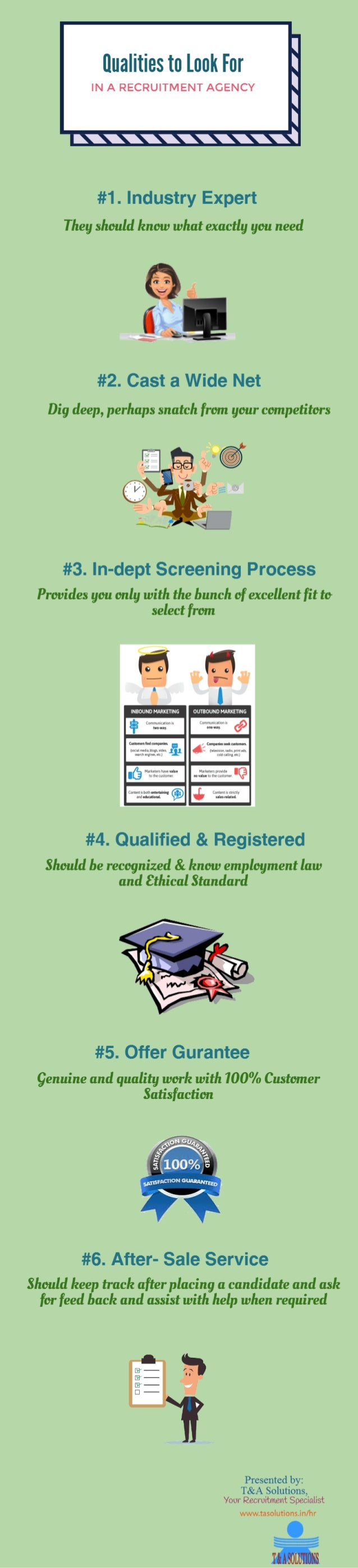 Qualities To Look For In A Recruitment Agency