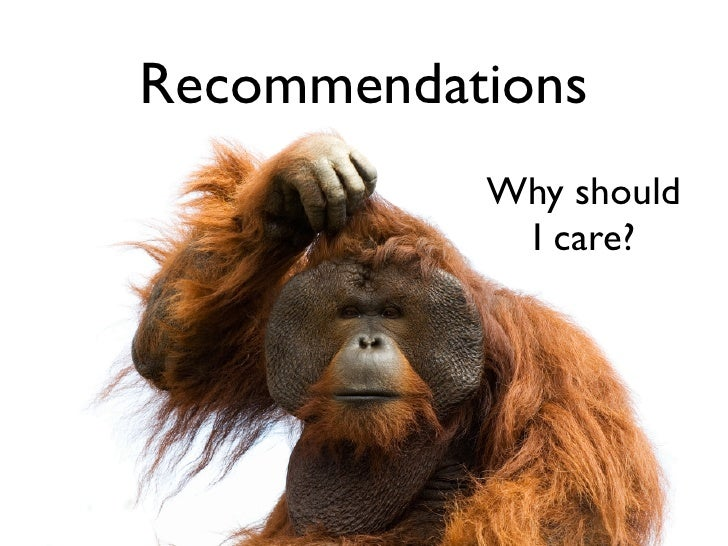 Recommendations                          Why should                           I care?      Add a stack trace      to impro...