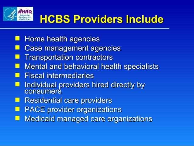 Is A In Home Care Provider A Institutional Providers