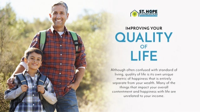Improving Your Quality of Life