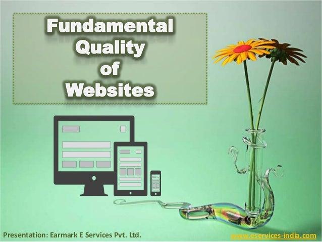 Presentation: Earmark E Services Pvt. Ltd. www.eservices-india.com