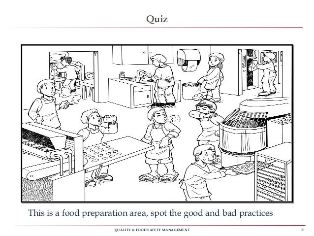 ... 23. 23QUALITY U0026 FOOD SAFETY MANAGEMENT Quiz ... Pertaining To Food Safety Quiz