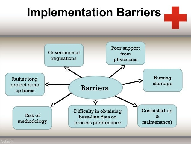 barriers with implementing or revising quality measures Implementation change management overcoming the barriers to change in healthcare system  patient safety and clinical quality.