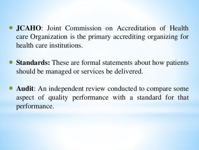 Accreditation and Regulatory Requirements