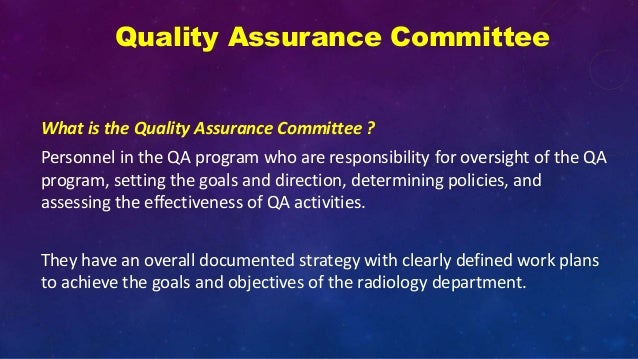 Quality assurance and digital radiography ppt video online download.