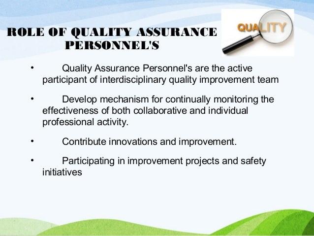 qualityassurance developing and setting standards. Black Bedroom Furniture Sets. Home Design Ideas