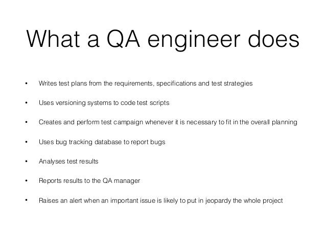 Quality Control Engineer Job Description  Template