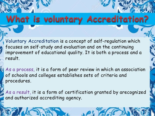 How to Format ACCME Accreditation Self Study Report