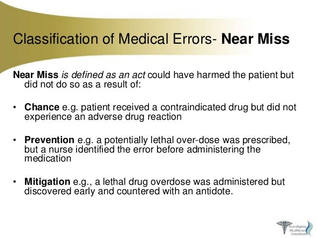 improving patients safety medical errors and adverse events in health care The illinois adverse health care events reporting law of 2005 these adverse events are part of intended to improve patient safety, quality of care.