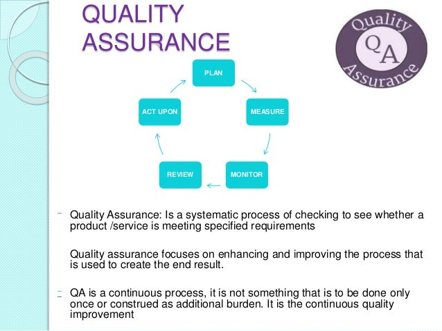 quality assurance review Quality assurance tools used by regional dhs staff.