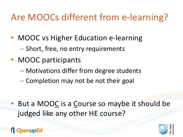 Quality frameworks for MOOCs: Quality assurance of MOOCs from an institutional perspective: the OpenupEd label Slide 3