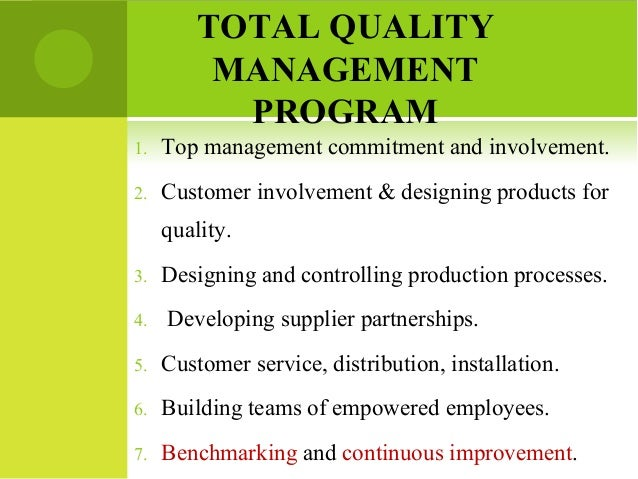 total quality management and employees empowerment The impact of total quality management practices on employee empowerment in the healthcare sector in saudi arabia: a study of king khalid hospital.