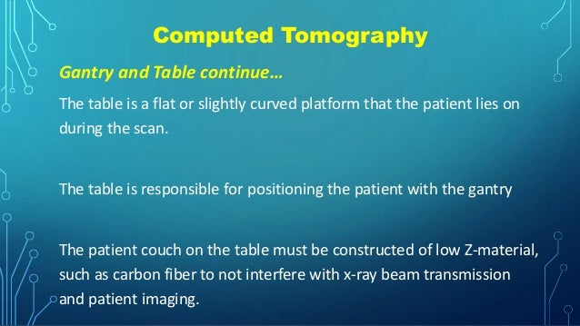 Computed Tomography Data Acquisition : Quality assurance programme in computed tomography