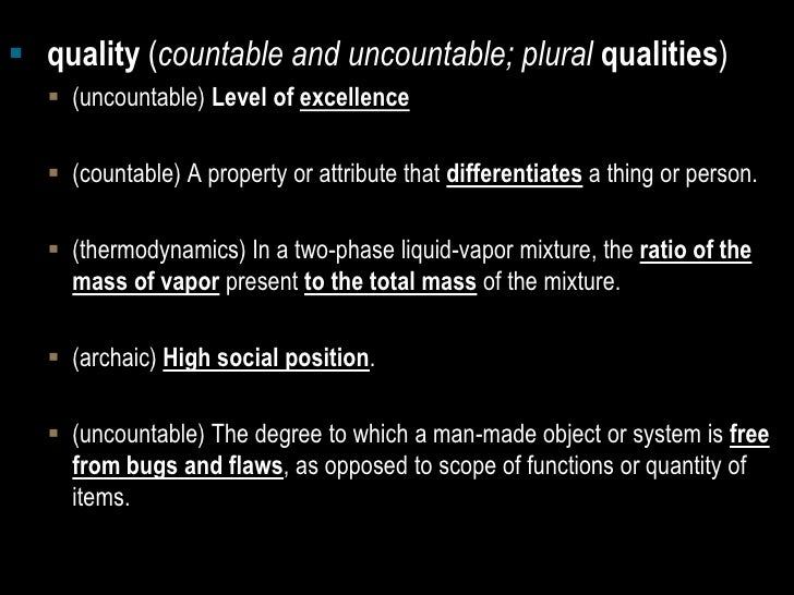 Quality as a trademark Slide 2