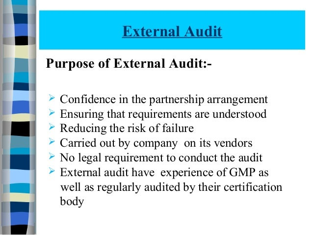 Quality audit 112070804012
