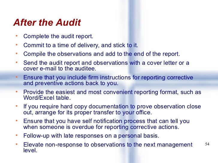 Quality Audits