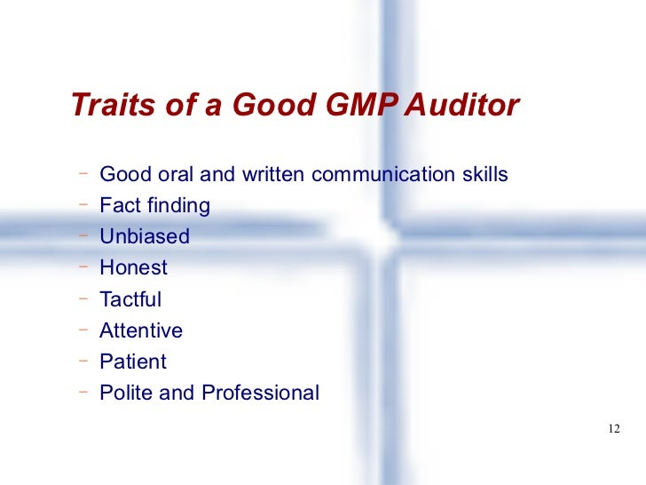 how to become a professional gmp auditor ontario