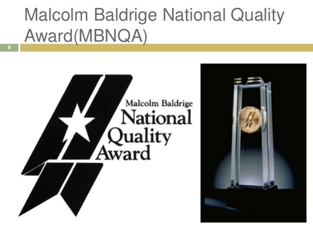 Baldrige Award Winners Applications