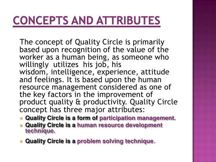 quality circles <br > 5