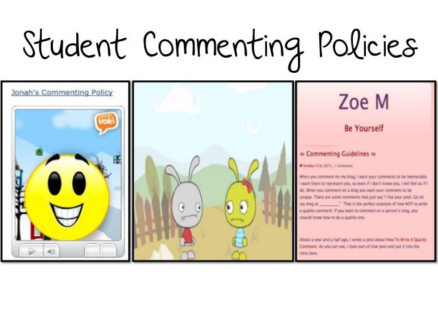 Student Commenting Policies