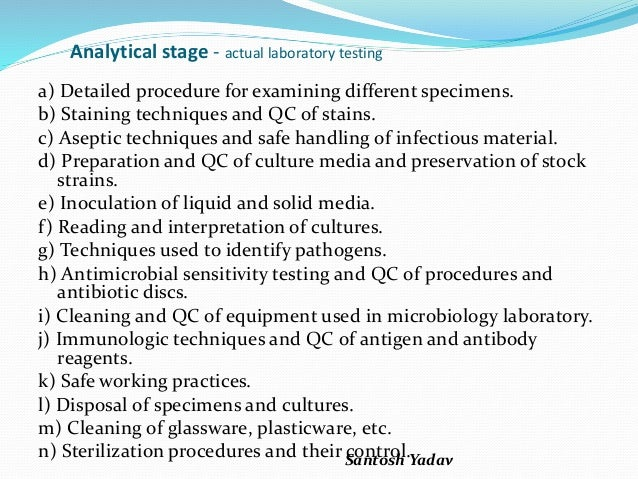 role of medical microbiologist
