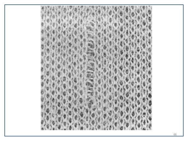 Circular Knitting Fabric : Quality control in the knitting process
