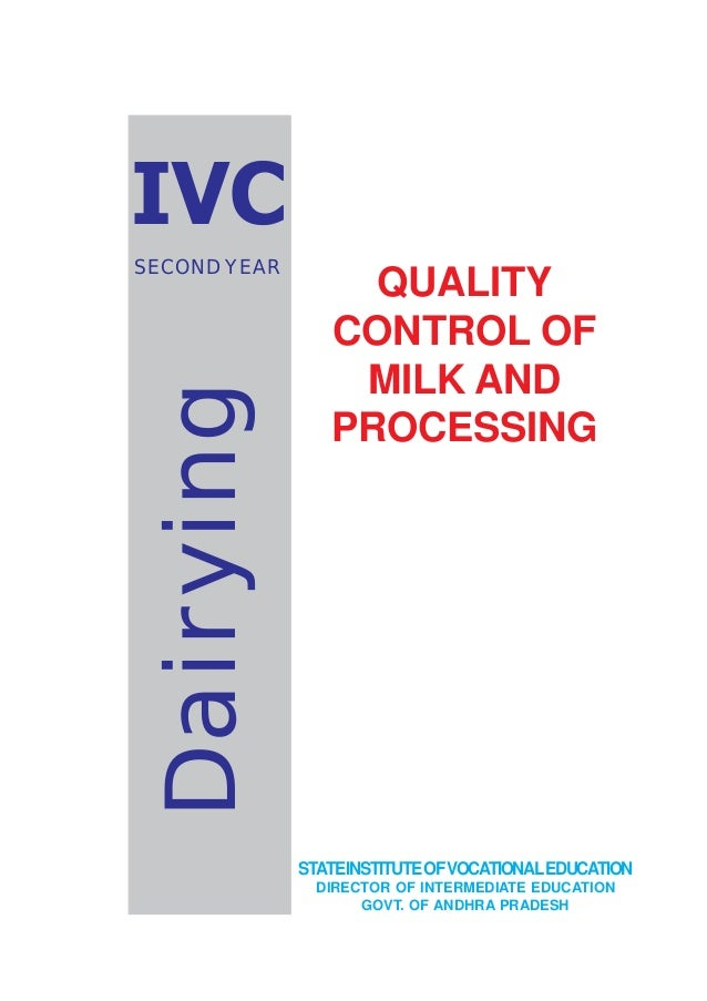 thesis on quality control of milk Human behavioral influences and milk quality control pay for your thesis paper and receive a quality paper  the thermophilic spore of group a (14x10±24x10 1 cfu/g) was lower than group b (15x10 2 ±22x10 1 cfu/g) group c (16x10±2x10 cfu/g) however, the averages obtained in present study is lower than the mean value reported by rueckert.