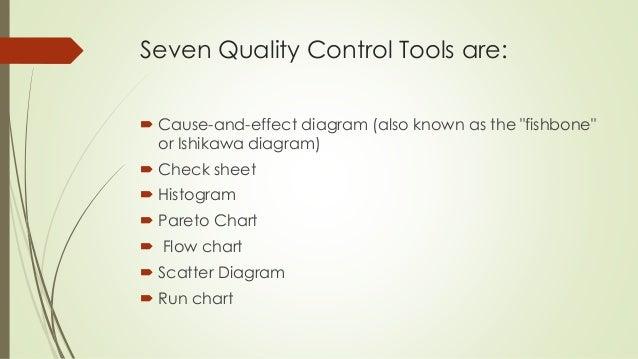 Quality control tools 3 seven quality control ccuart Images