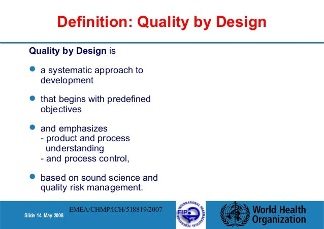 Quality design Qualities of a good architect