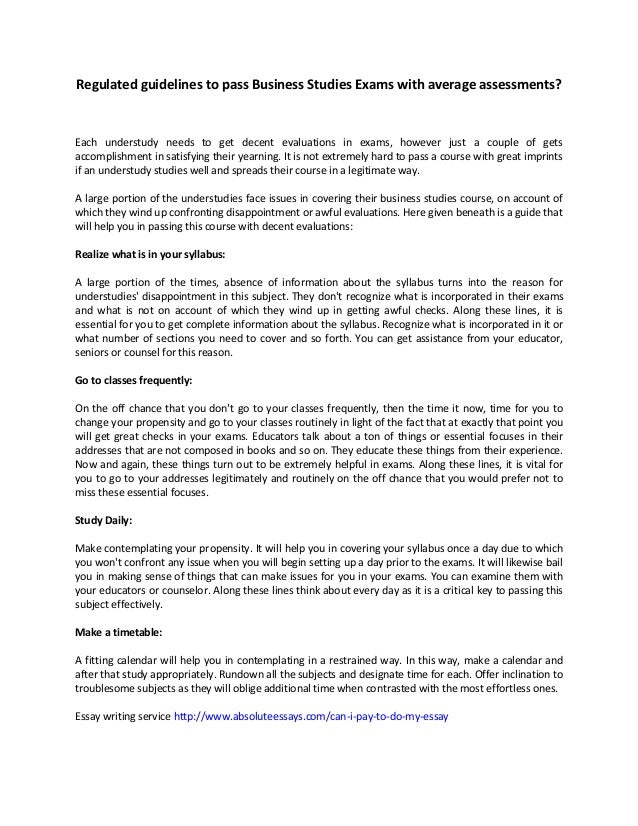Essay About Gender Equality Quality Essay Writing Services Regulated Guidelines To Pass Business  Studies Exams With Average Assessments Each Understudy Needs To Get Narrative Descriptive Essay Samples also Writing An Essay Outline Quality Essay Writing Services The Chosen Essay