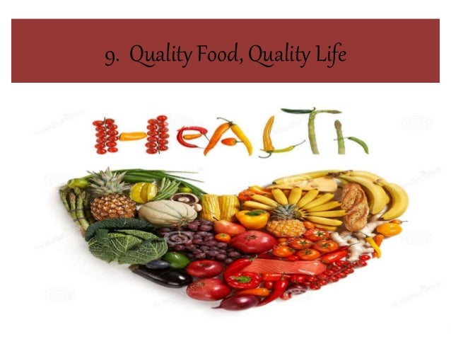 Quality Foodquality Life